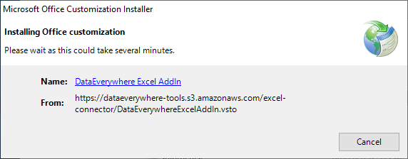 Installing the Excel Add-In 6