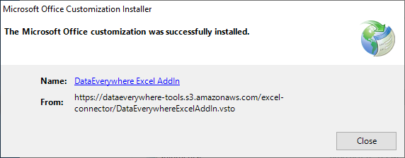Installing the Excel Add-In 7